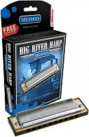 HOHNER Big river harp 590/20 F (M590066X)